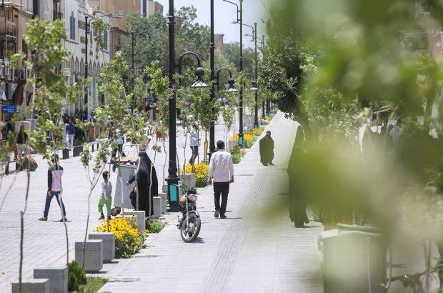 احداث پیادهراهها گامی در مسیر احترام به عابران پیاده