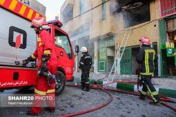 تصاویر/ آتشسوزی منزل مسکونی در قم