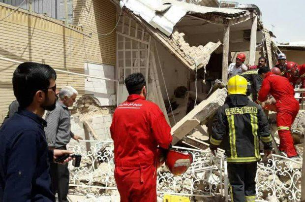 انفجار منزل مسکونی در قم +فیلم