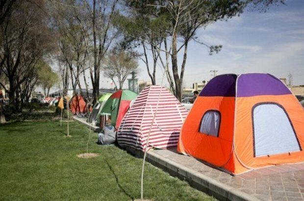 هرگونه چادر زدن در بوستانهای قم ممنوع است
