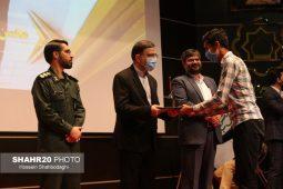 تصاویر/ تجلیل از برگزیدگان پنجمین جشنواره رسانهای ابوذر استان قم