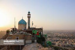 تصاویر/ کوه خضر نبی در قم