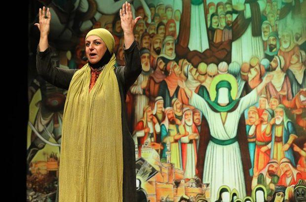 بانوی هنرمند قمی برگزیده جشنواره نقالی و پردهخوانی غدیر شد