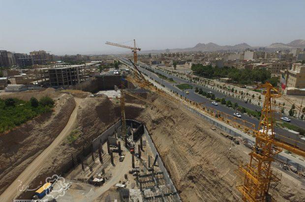 تصاویری از پروژههای در حال اجرای سرمایهگذاری شهرداری قم