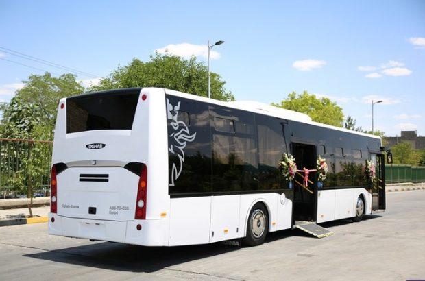بازسازی رمپ ویلچر ۱۱ دستگاه اتوبوس در شهر قم