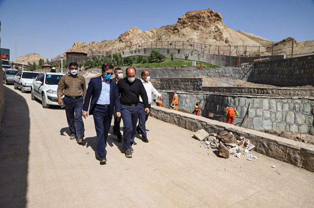 بازدید شهردار قم از پروژههای شهری و عمرانی +تصاویر