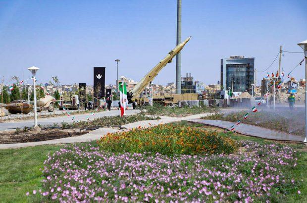نگاهی به باغ موزه دفاع مقدس قم +تصاویر