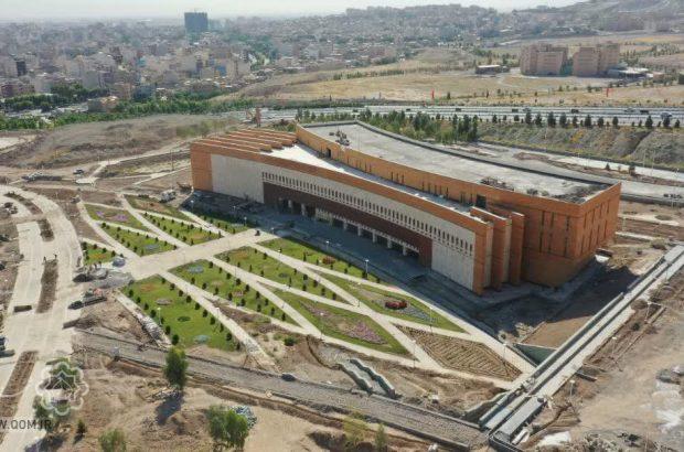 تکمیل فضای سبز باغ موزه دفاع مقدس تا پایان شهریور