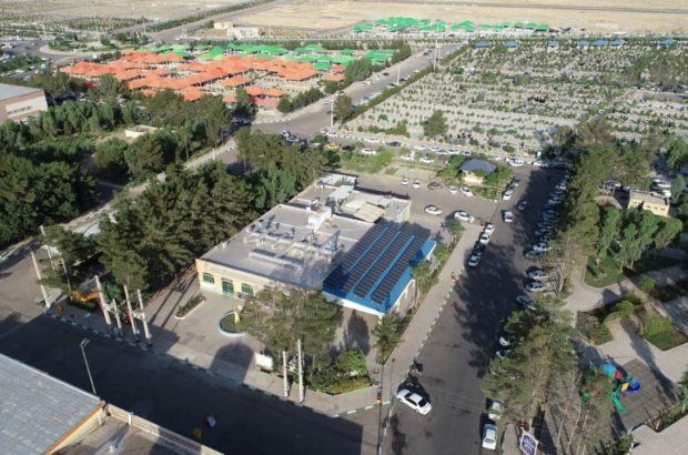 تولید برق در نیروگاههای خورشیدی پارکهای قم