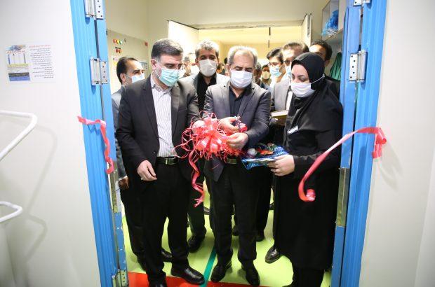 ICU بیمارستان شهدا قم افتتاح شد