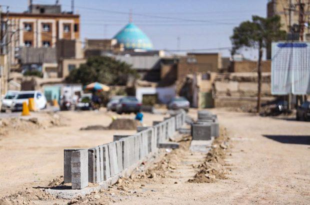 نگاهی به عملیات اجرایی پروژه بلوار شهیدان برقعی +تصاویر