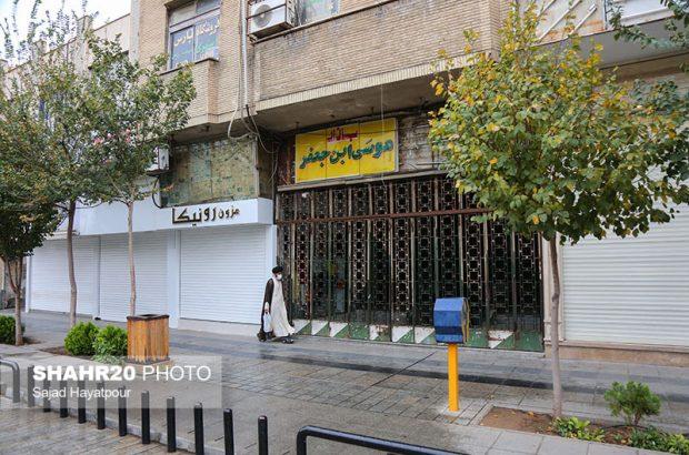 اماکن تجاری و اقامتی ناایمن تهدیدی در مرکز شهر