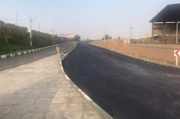 پیشرفت ۷۵ درصدی احداث رمپ اتوبان امیرکبیر