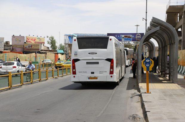 ساماندهی ایستگاههای اتوبوسهای سطح شهر در دو ماه آینده
