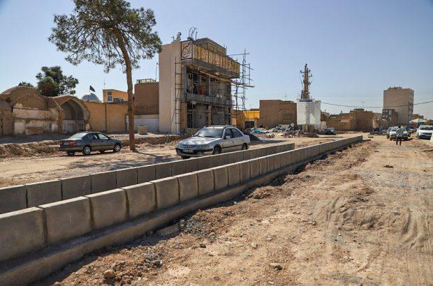 باقی ماندن تملک ۴ پلاک در بلوار شهیدان برقعی