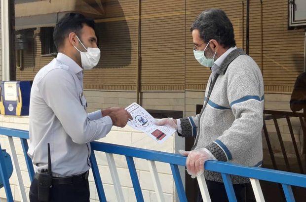 توزیع بروشورهای حاوی نکات ایمنی در خصوص گاز منوکسیدکربن