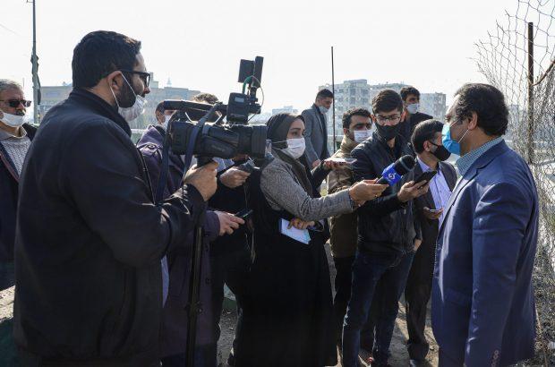 بازدید اصحاب رسانه از پروژههای عمرانی شهرداری قم +تصاویر
