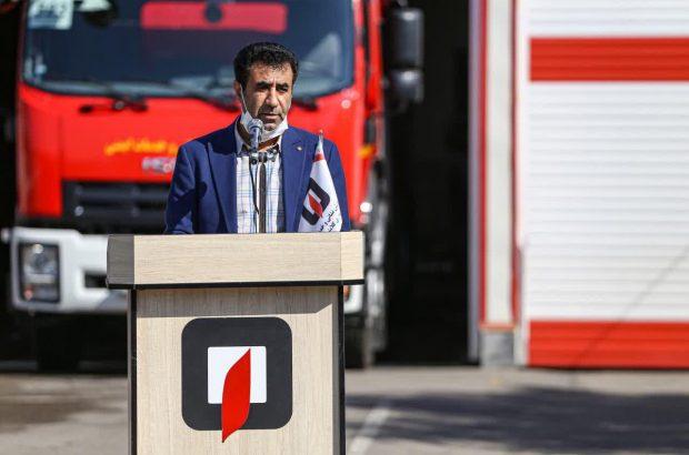 کاهش عملیاتهای آتشنشانی قم در چهارشنبهسوری
