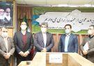 خداحافظی حاجی حسینی مسگر از شرکت آب منطقهای قم