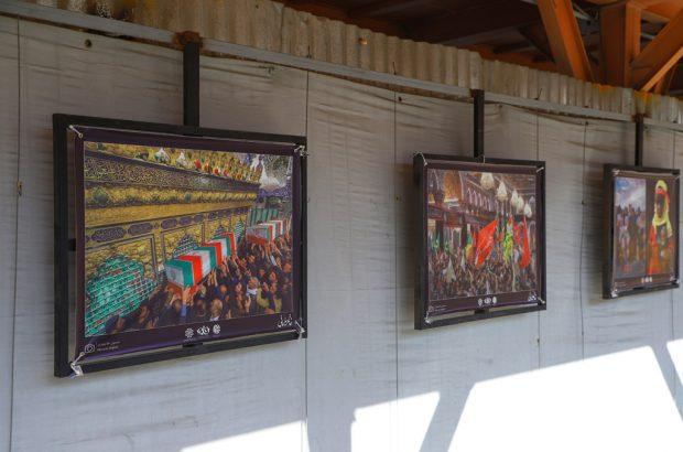 برپایی نمایشگاه عکس «خاتم سلیمانی» در قم +تصاویر