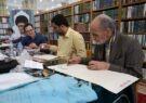 حضور استادان صاحبنام خوشنویسی در کارگاه کتابت نیمه شعبان