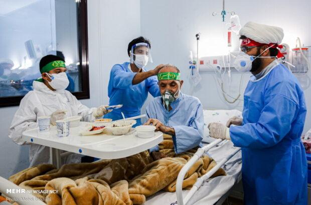 حالوهوای بیمارستان امیرالمومنین(ع) قم در روز میلاد امام مجتبی(ع) +تصاویر
