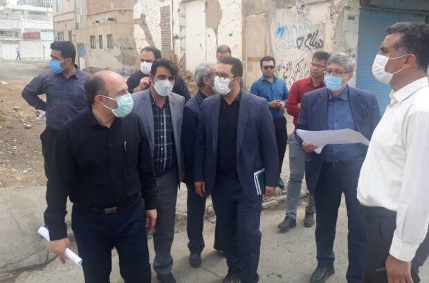 رفع معارض پروژه شهید اوسطی در کمترین زمان انجام میشود