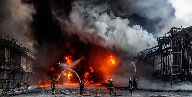 جزئیات آتشسوزی در کارخانه الکل قم