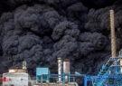 تصاویری از حجم سنگین آتشسوزی کارخانه الکل در قم