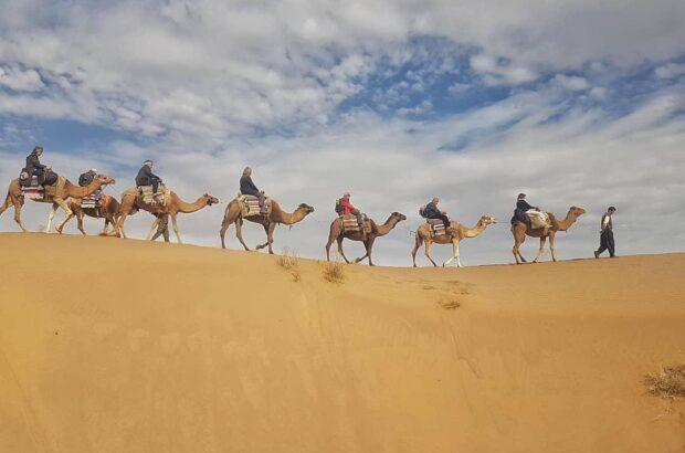 لزوم ایجاد جاذبههای گردشگری در کویر قنوات قم