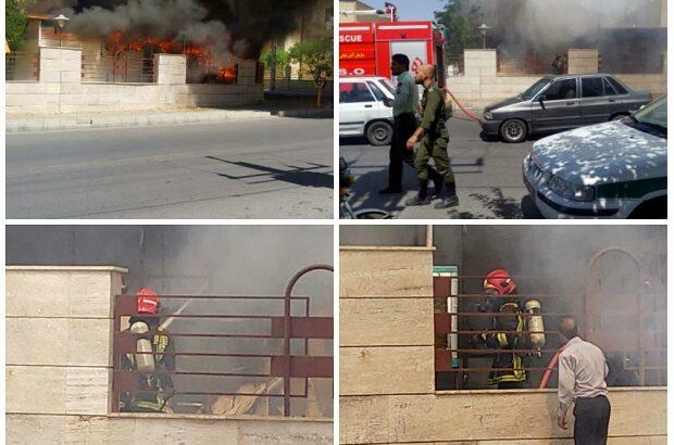 جزئیات آتشسوزی کانون پرورش فکری قم