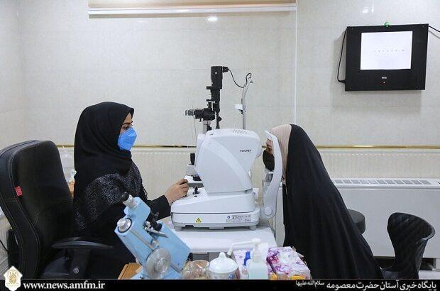 ویزیت رایگان بیماران در درمانگاه حضرت معصومه(س) +تصاویر