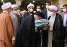 اهدای پوش مرقد حضرت معصومه(س) توسط تولیت آستان قدس رضوی +تصاویر