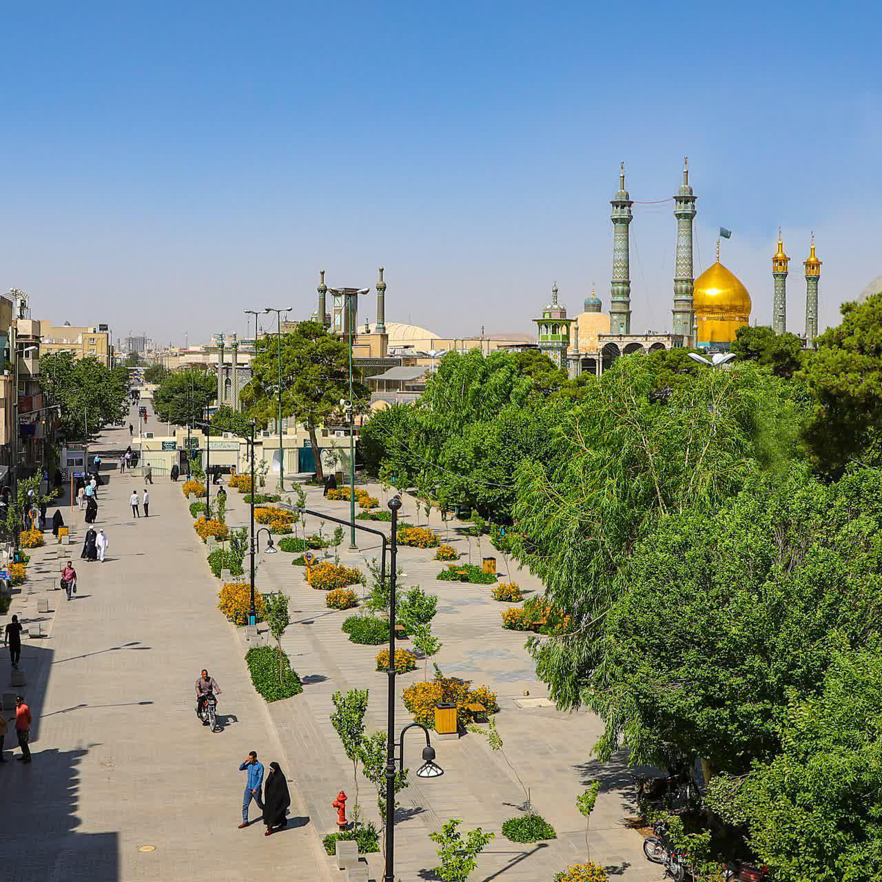 ۶۰۰ متر فضای سبز در پیادهراه آیتالله مرعشینجفی احداث میشود
