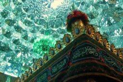 گلآرایی ضریح مطهر حضرت معصومه به مناسبت دهه کرامت