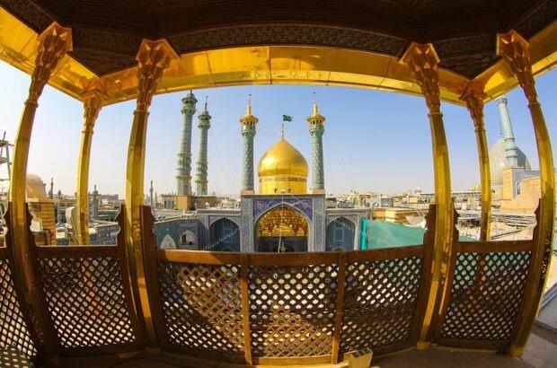 اعلام جشنهای عید غدیر در حرم حضرت معصومه(س)