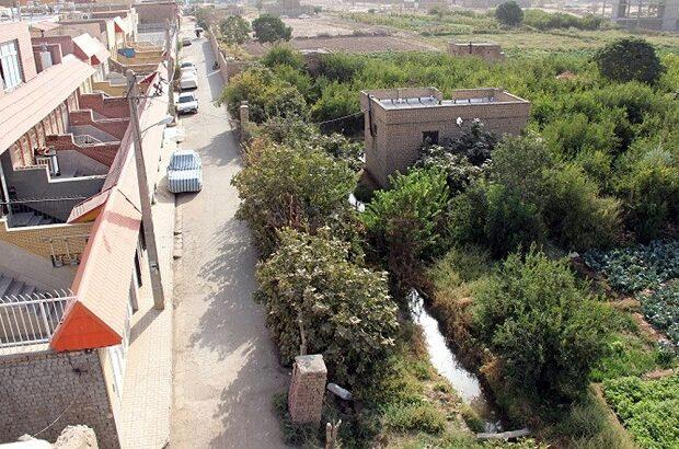 ادامه روند تملک باغات شهر برای تبدیل به بوستان
