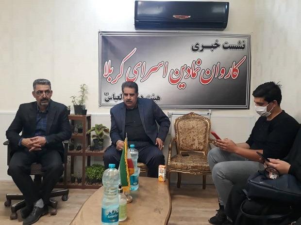 احمد فتحی مسئول هیئت دخیل العباس