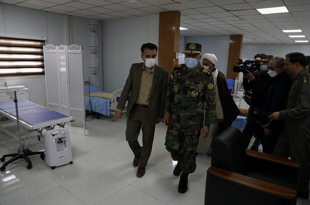 تجلی شعار «ارتش فدای ملت» در احداث بیمارستان تنفسی قم