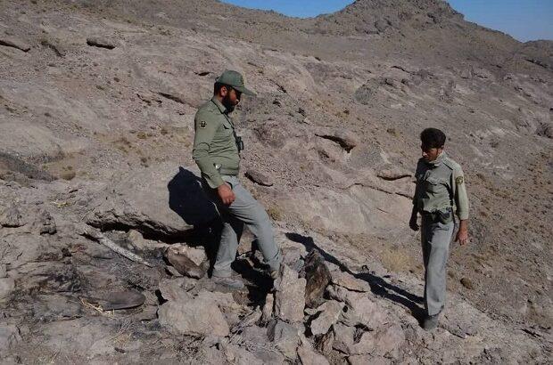 تخریب کمینگاه شکارچیان در ارتفاعات وشنوه قم