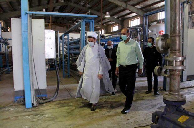 توان تولید روزانه ۶ هزار متر مکعب آب شیرین در قم