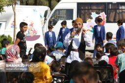 تصاویر/ «حال خوش کودکی» در شهر جعفریه