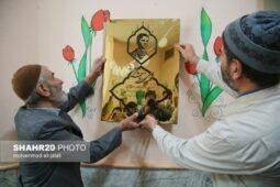 تصاویر/ نامگذاری مرکز شماره ۸ کانون پرورش فکری قم به نام شهید زرنوشه