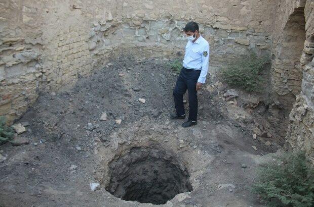 دستگیری حفاران غیرمجاز در کاروانسرای تاریخی محمدآباد قم